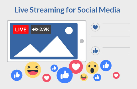 Live streaming on social media