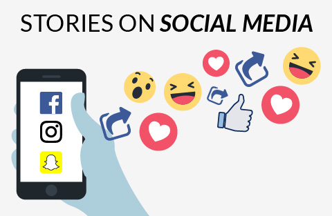 Using stories in social media