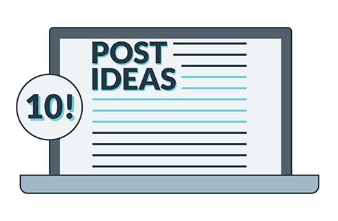 Ten ideas for effective business blog posts